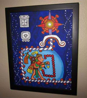 mayan prophecy painting