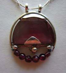 magical world ruby pendant